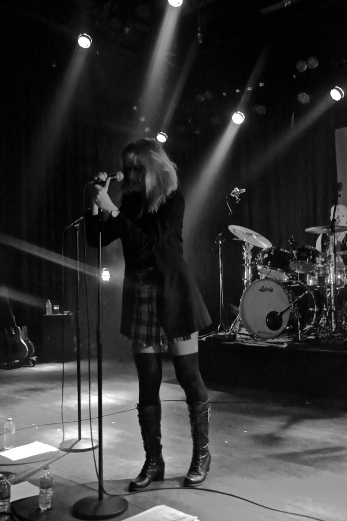 Rock concert benefit